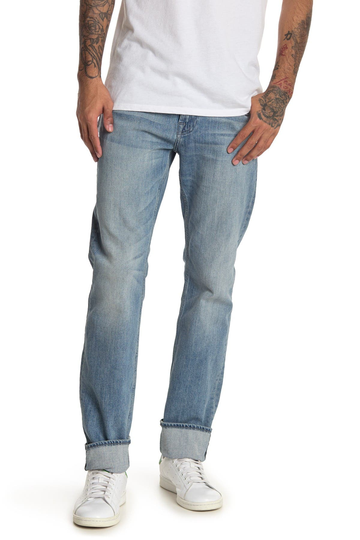 7 For All Mankind STRAIGHT LEG SLIM FIT JEANS