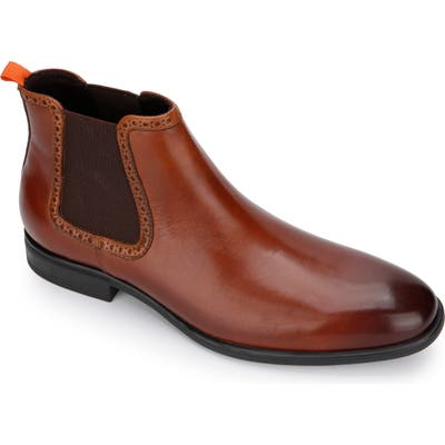 Kenneth Cole Reaction Edge Flex Chelsea Boot- Brown