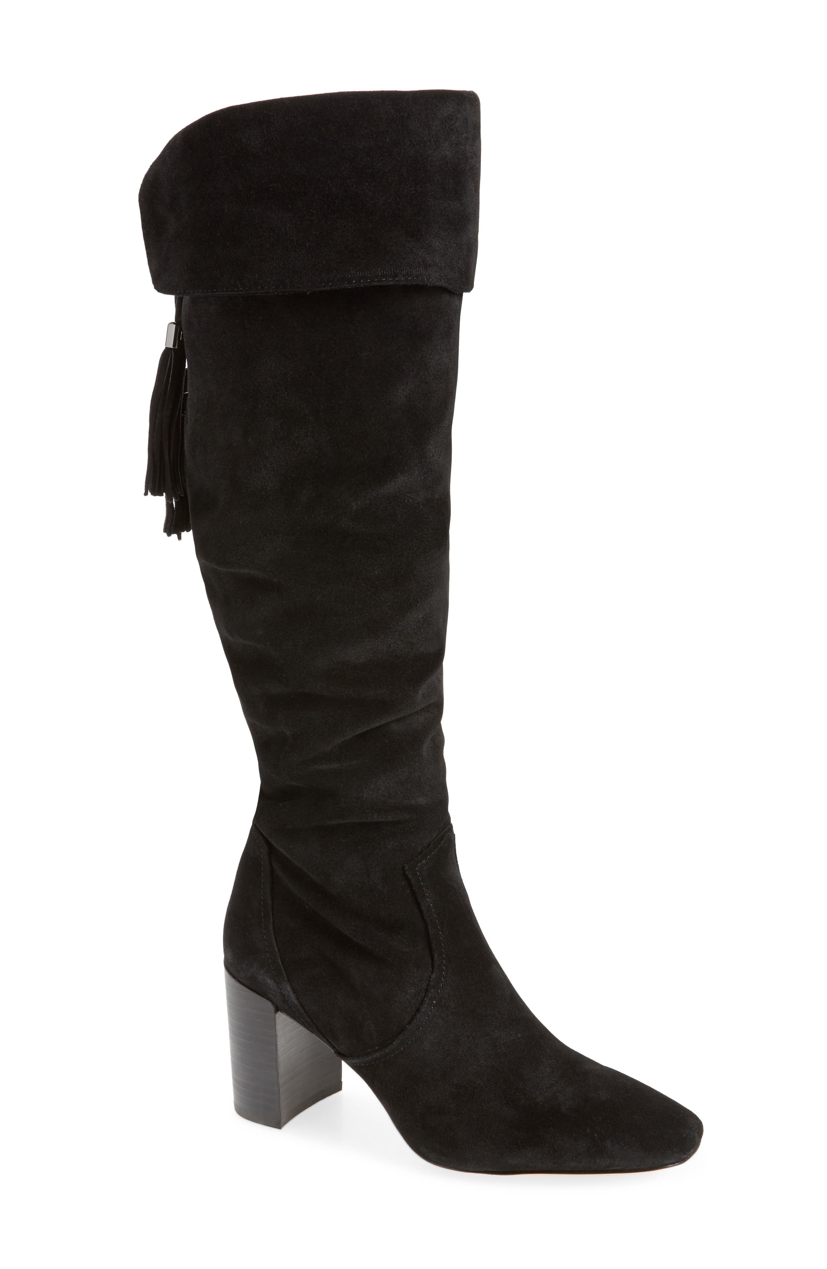 Karl Lagerfeld Paris Razo Tassel Knee