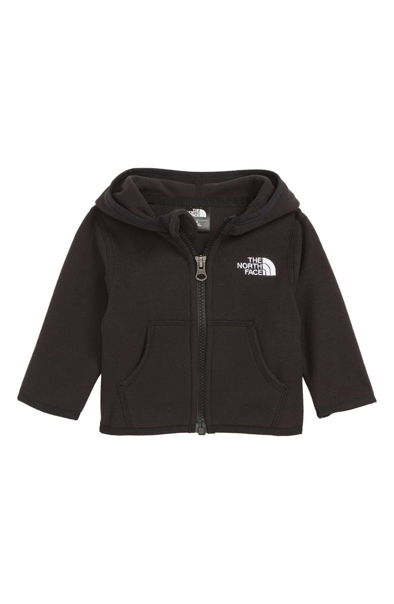 THE NORTH FACE Glacier Full Zip Hoodie, Main, color, TNF BLACK