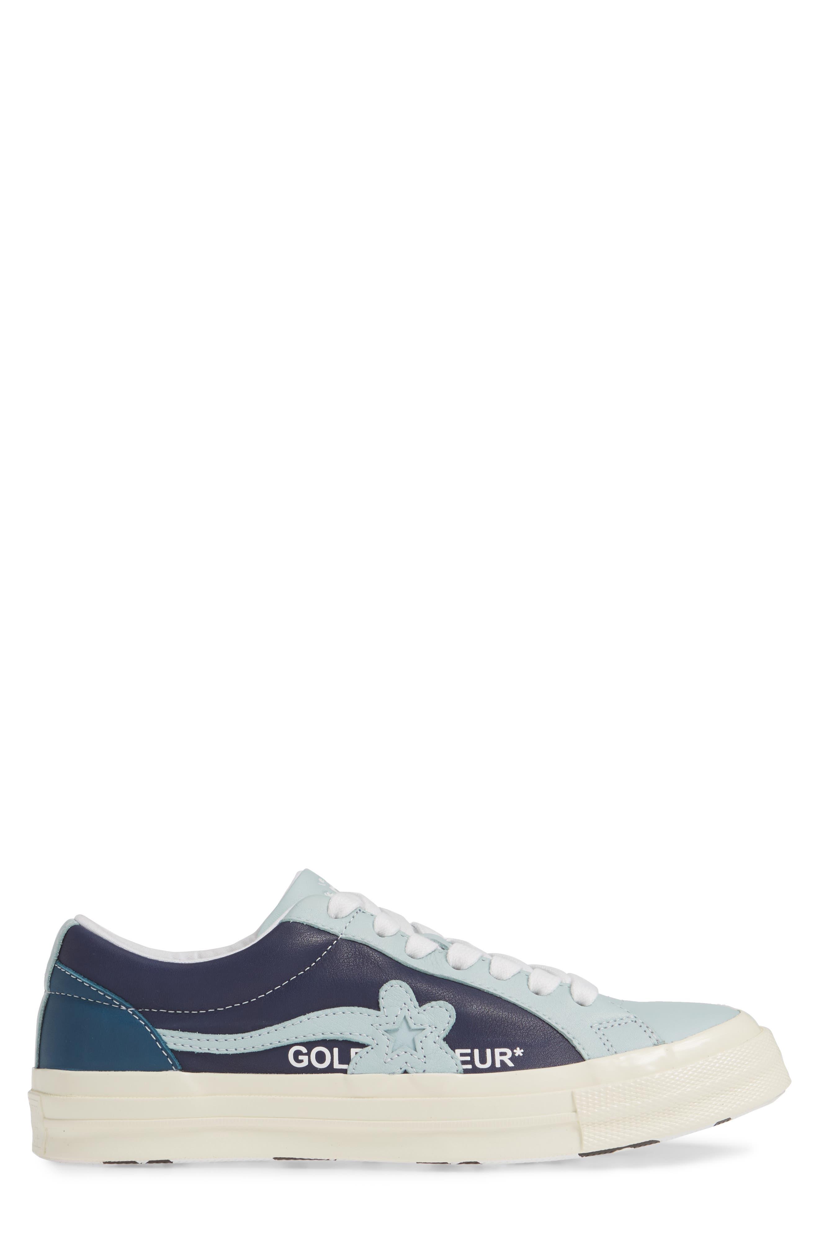 ,                             x GOLF le FLEUR Ox Sneaker,                             Alternate thumbnail 3, color,                             487