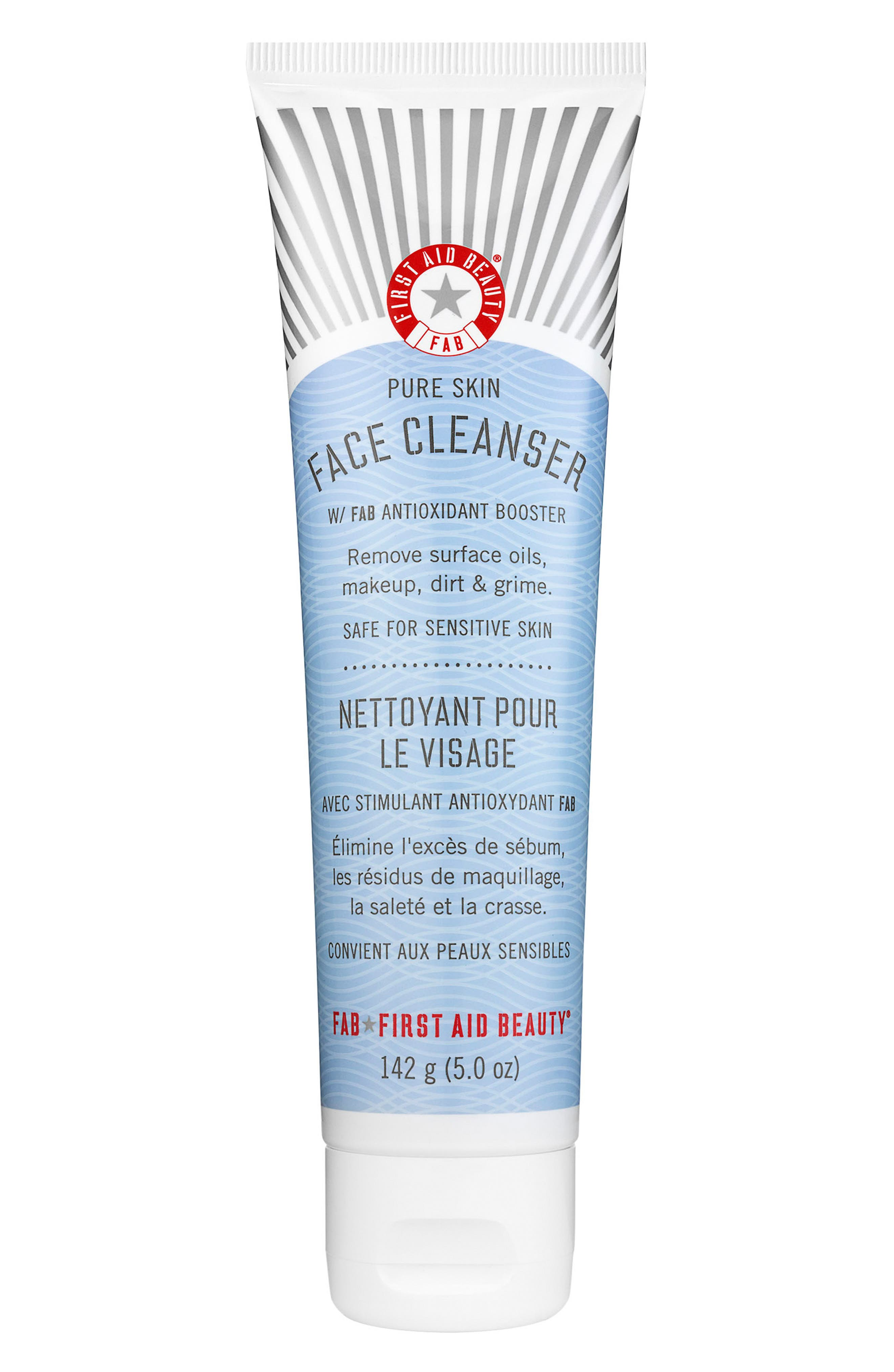 Image of FIRST AID BEAUTY Pure Skin Face Cleanser