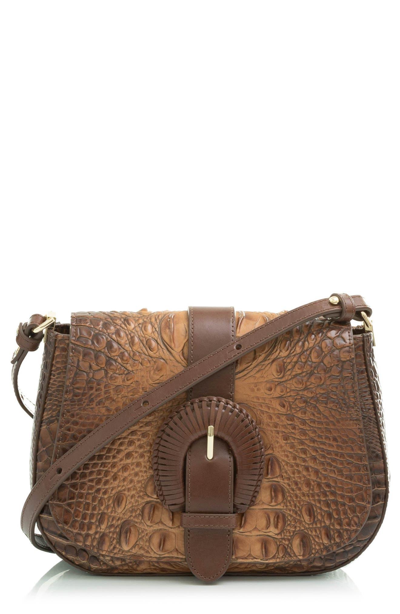 Nadine Small Leather Crossbody Bag