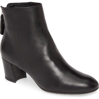 Agl Almond Toe Bootie - Black