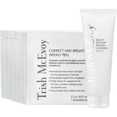 Trish Mcevoy Boost & Brighten Cleansing Balm & Weekly Peel Set (Nordstrom Exclusive) ($174 Value)