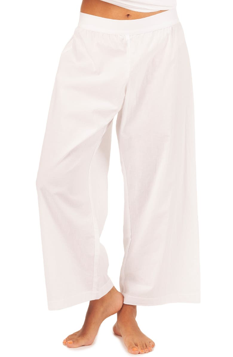 LIVELY The Lounge Pants, Main, color, WHITE