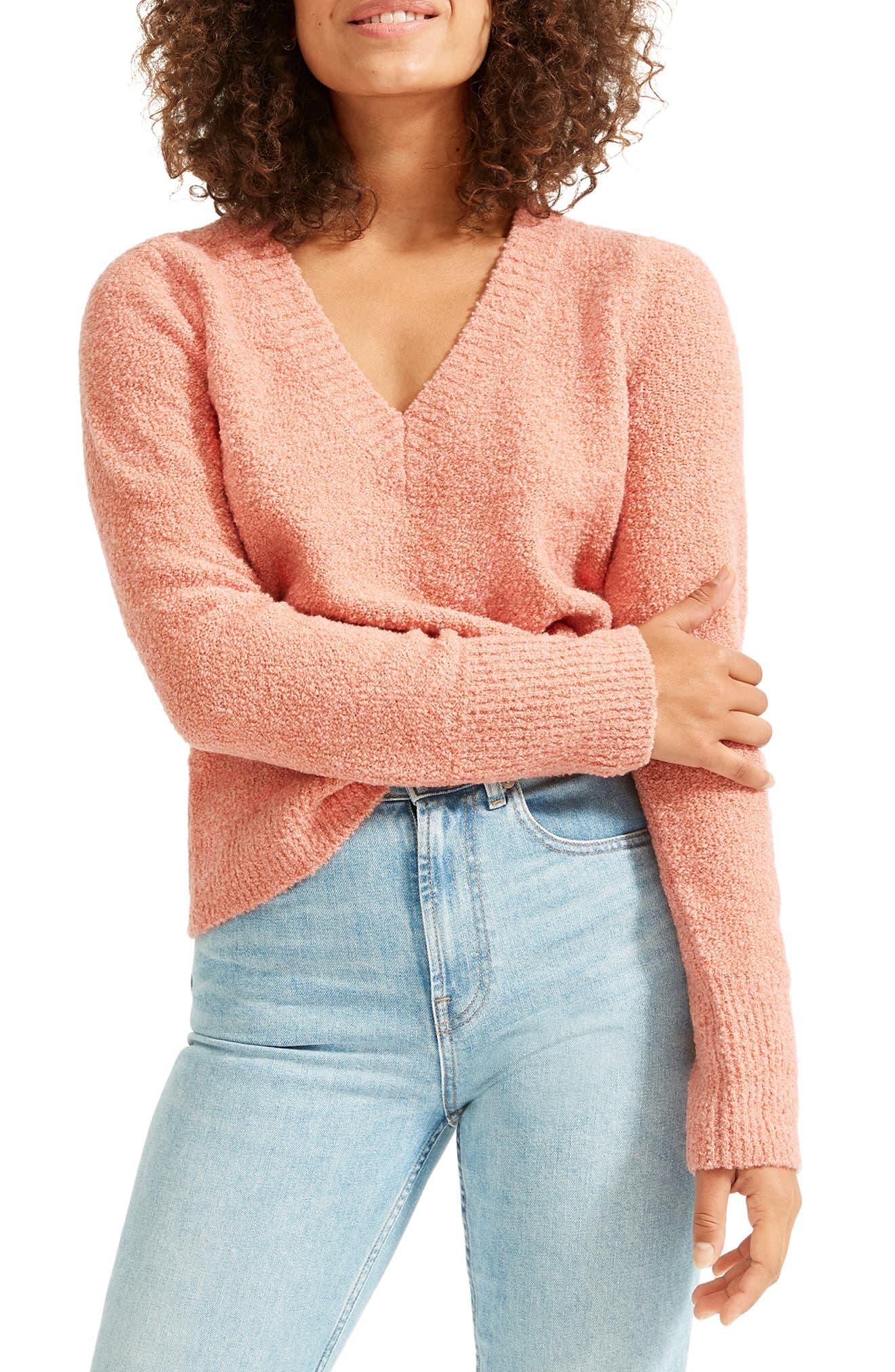 Everlane The Teddy Wool Blend V-Neck Sweater   Nordstrom