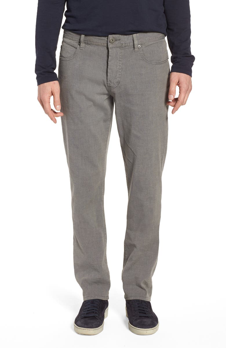 JAMES PERSE Straight Leg Five-Pocket Pants, Main, color, 039