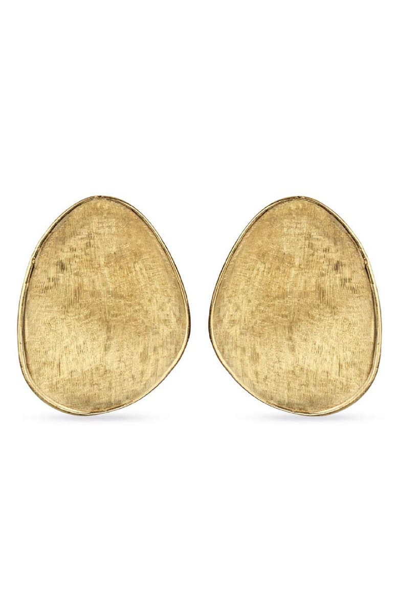 MARCO BICEGO Textured Earrings, Main, color, YELLOW GOLD