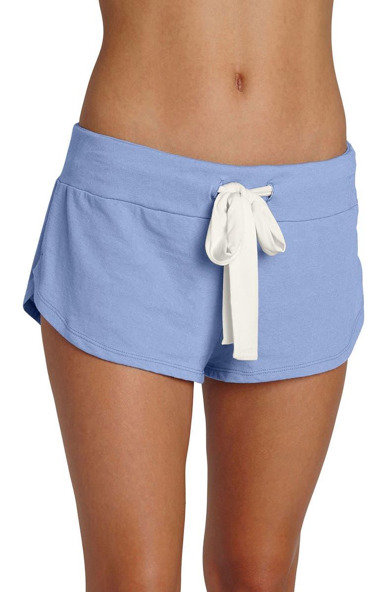 EBERJEY Heather Knit Shorts, Main, color, 403