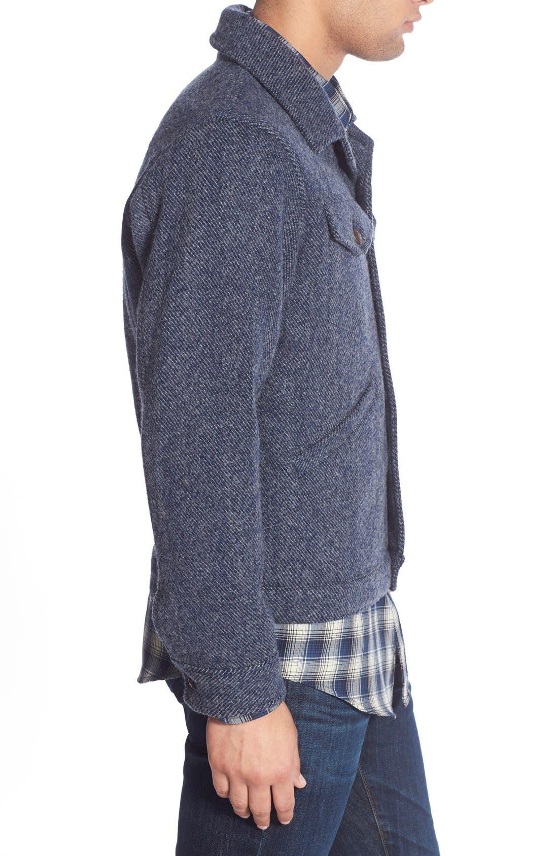 ,                             Wool Twill Jacket,                             Alternate thumbnail 4, color,                             410