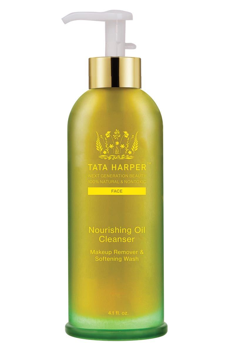 TATA HARPER SKINCARE Nourishing Oil Cleanser, Main, color, NO COLOR