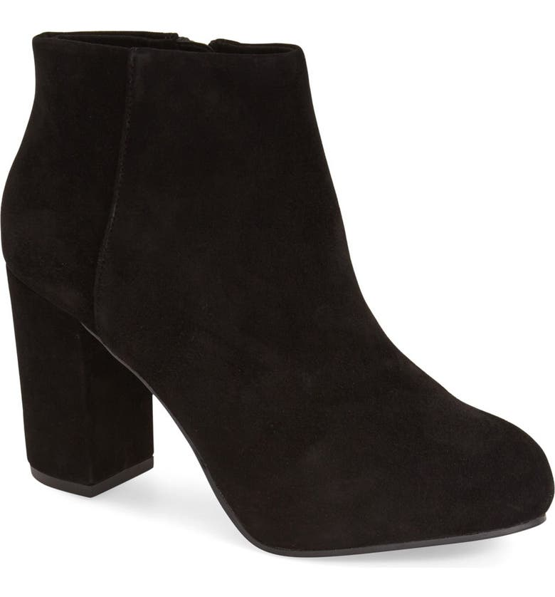 TOPSHOP 'Miles' Ankle Boot, Main, color, 001