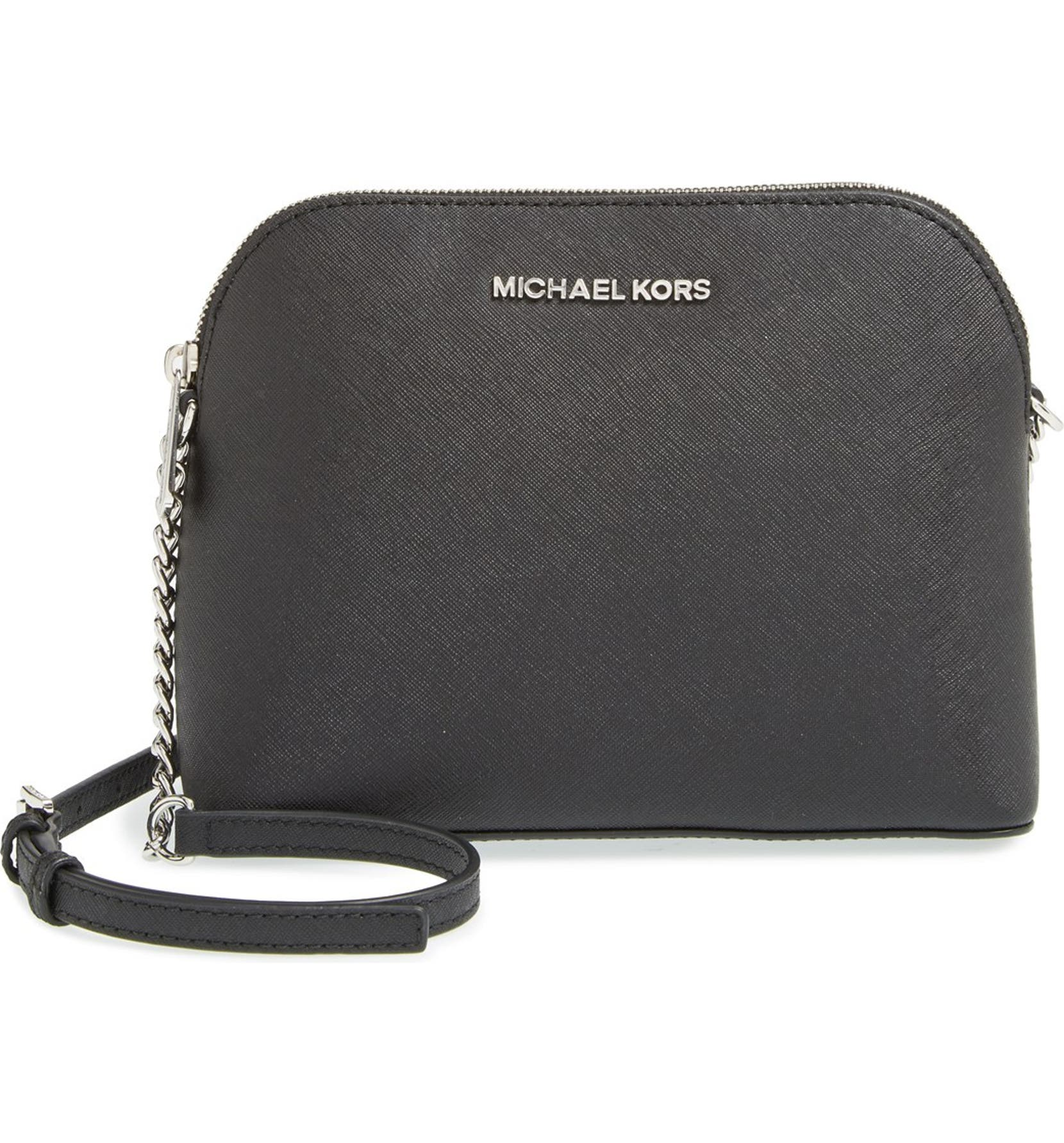 78c6f51f4856 MICHAEL Michael Kors 'Large Cindy' Saffiano Leather Crossbody Bag |  Nordstrom