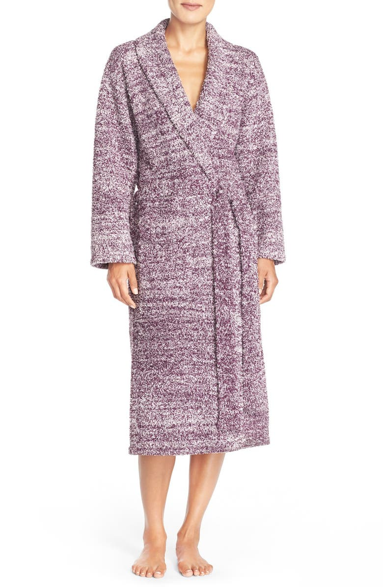 BAREFOOT DREAMS<SUP>®</SUP> CozyChic<sup>®</sup> Robe, Main, color, VELVET PLUM/ HUSHED VIOLET