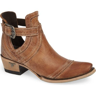 Lane Boots Cahoots Bootie- Brown
