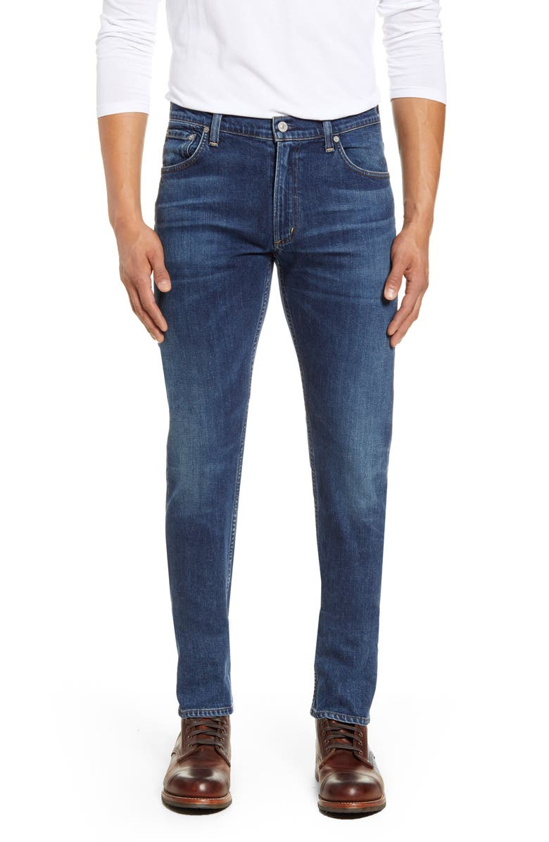 CITIZENS OF HUMANITY Bowery Slim Fit Jeans, Main, color, NEW MOON