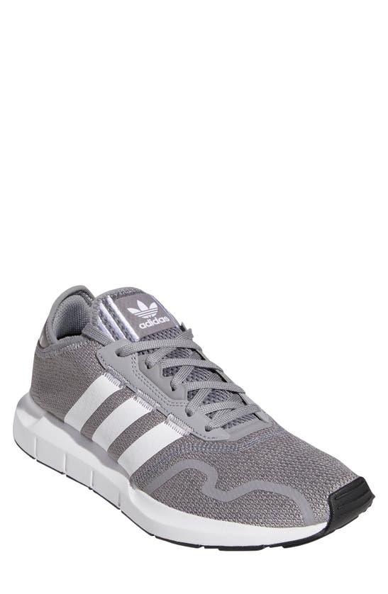 Adidas Originals Adidas Men's Originals Swift Run X Casual Shoes In Grey/ White/ Black