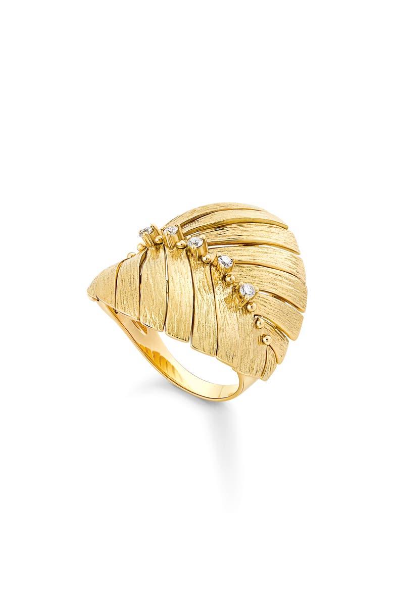 HUEB Bahia Diamond Ring, Main, color, DIAMOND