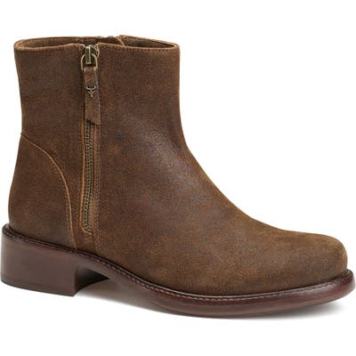 Trask Brylee Moto Boot, Brown