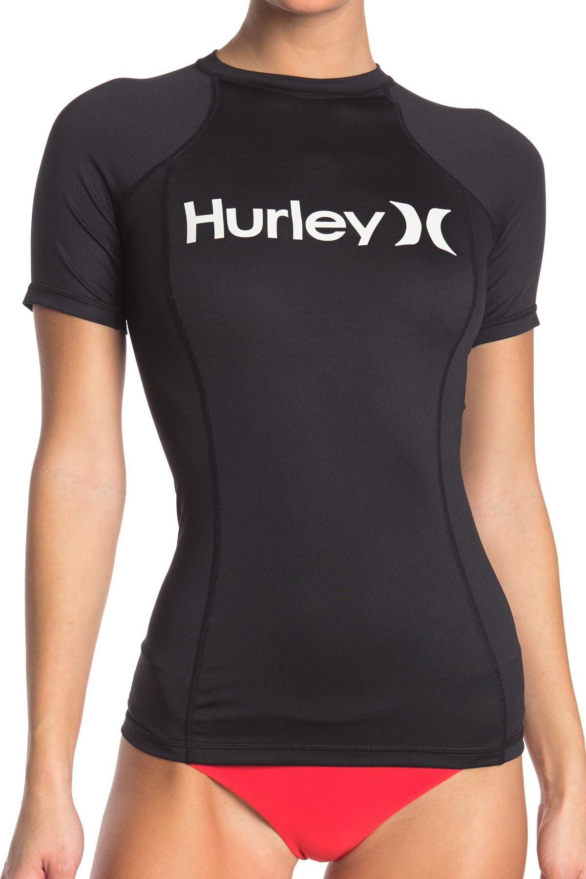 Image of Hurley One & Only Short Sleeve Rashguard