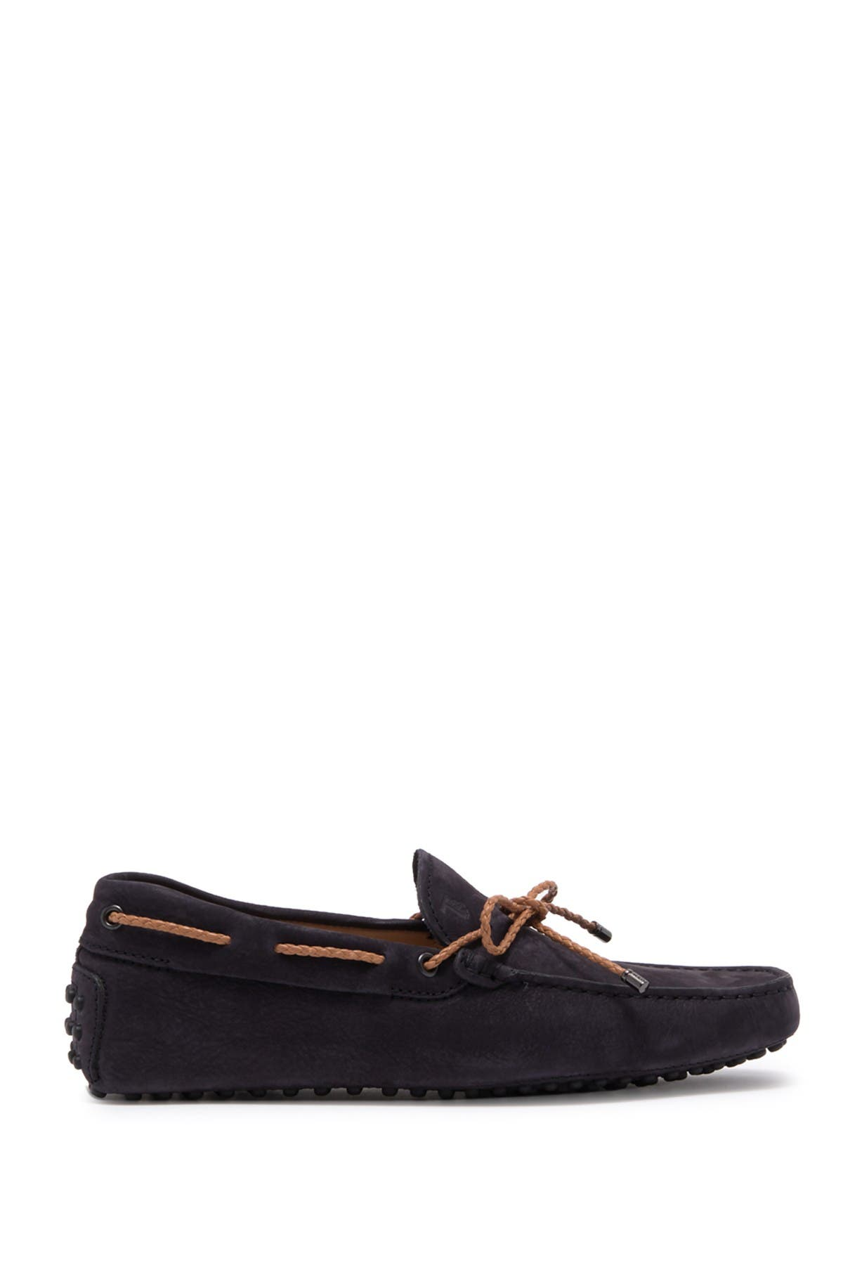 Image of Tod's Laccetto Leather Driving Loafer