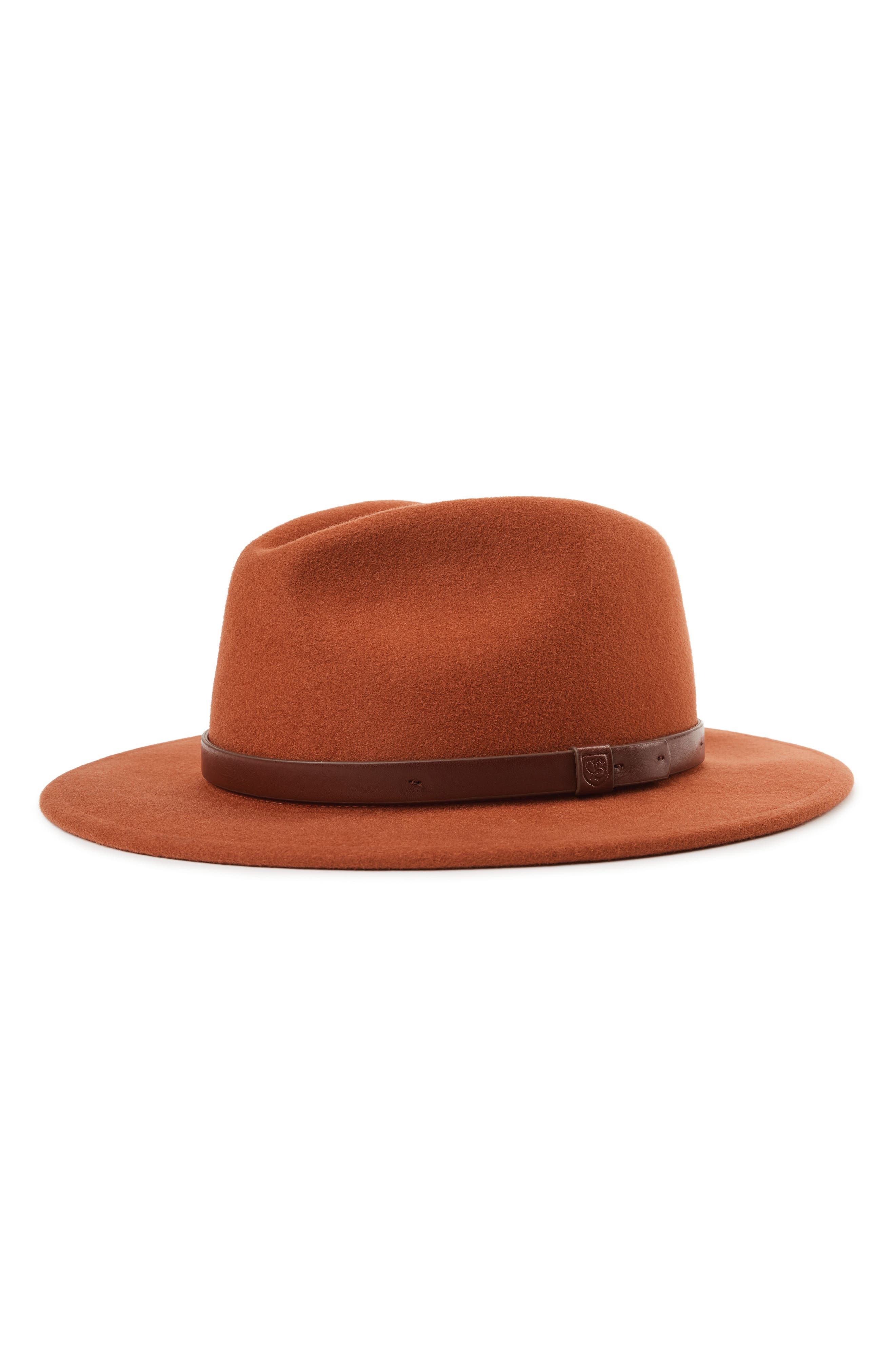 ,                             Messer II Felted Wool Fedora,                             Main thumbnail 3, color,                             202