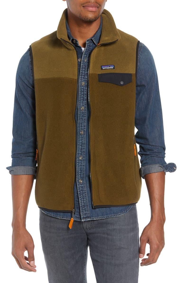 PATAGONIA Synchilla<sup>®</sup>Snap-T<sup>®</sup> Zip FleeceVest, Main, color, 201