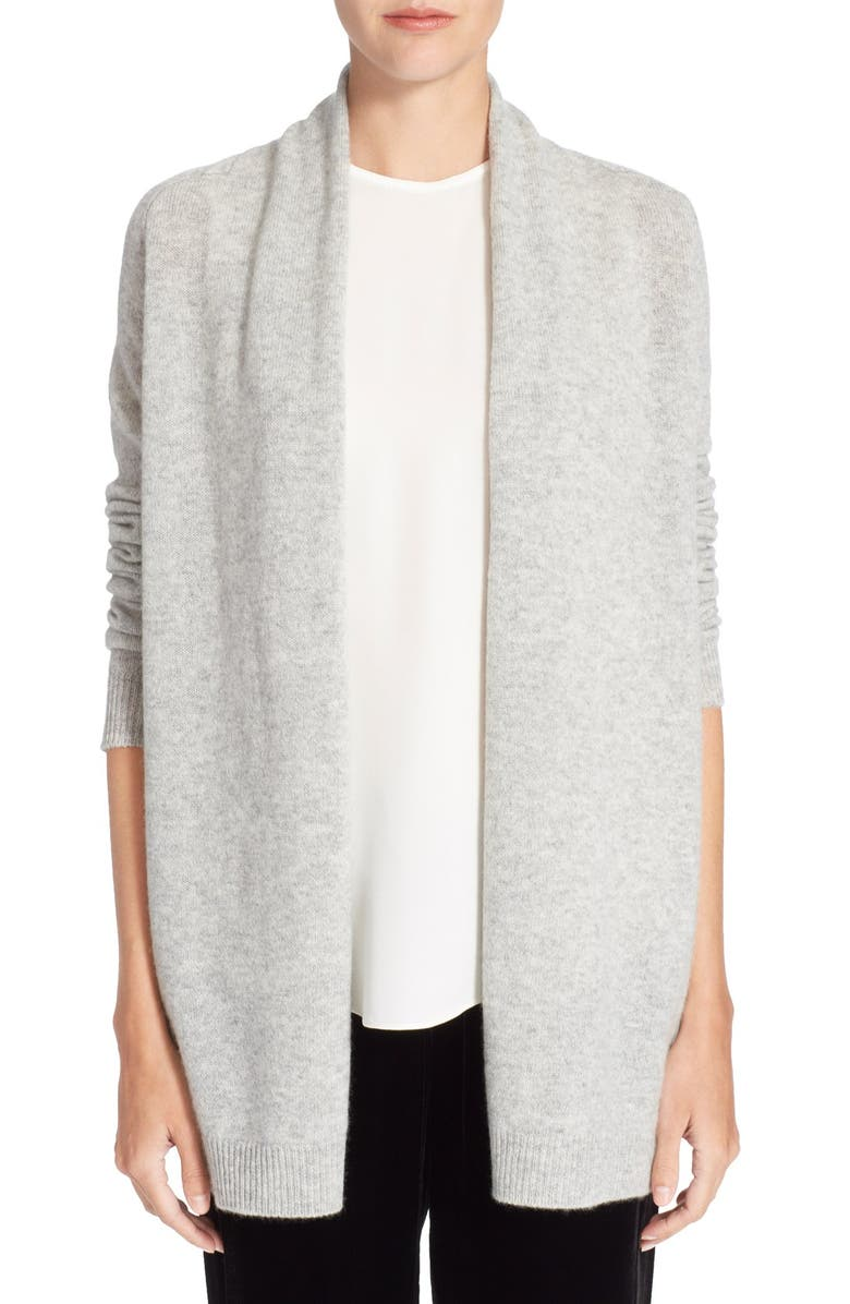81f594d9381 Theory 'Ashtry J' Open Front Cashmere Cardigan | Nordstrom