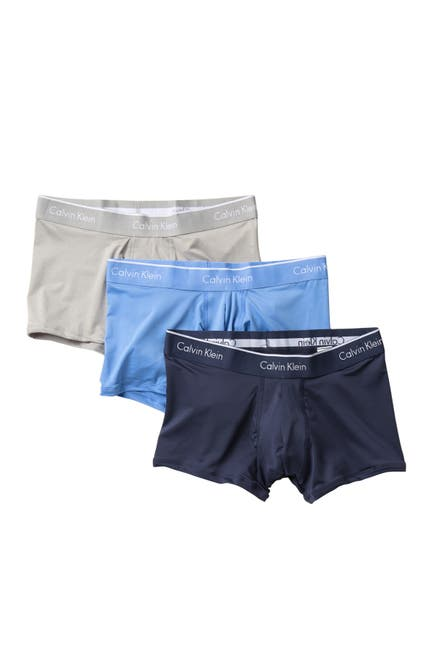 Image of Calvin Klein Low Rise Trunks - Pack of 3