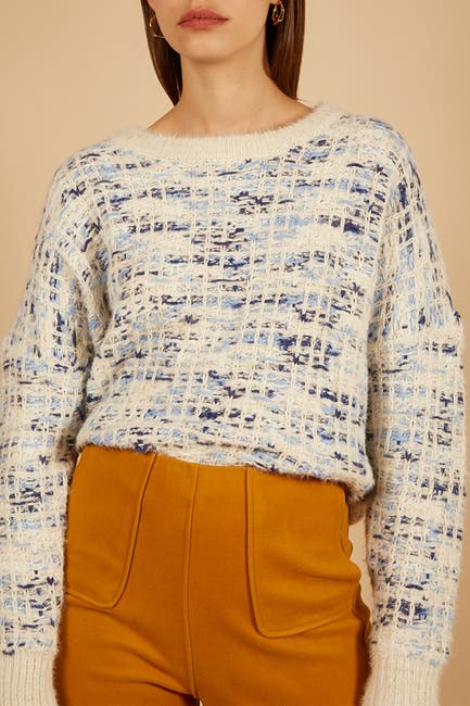 Image of FRNCH Nil Multi Novelty Yarn Sweater