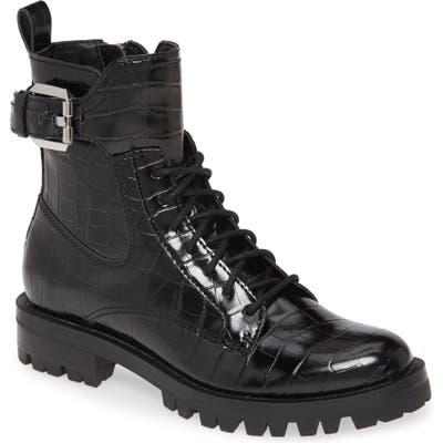 Dolce Vita Paxtyn Combat Boot, Black
