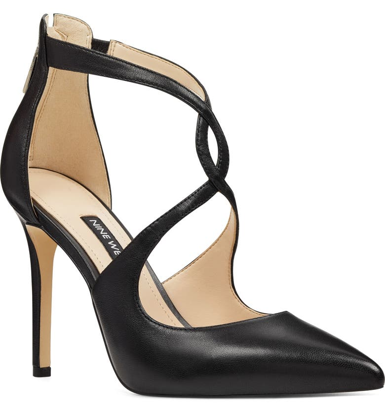 NINE WEST Tisha Pointy Toe Pump, Main, color, 001