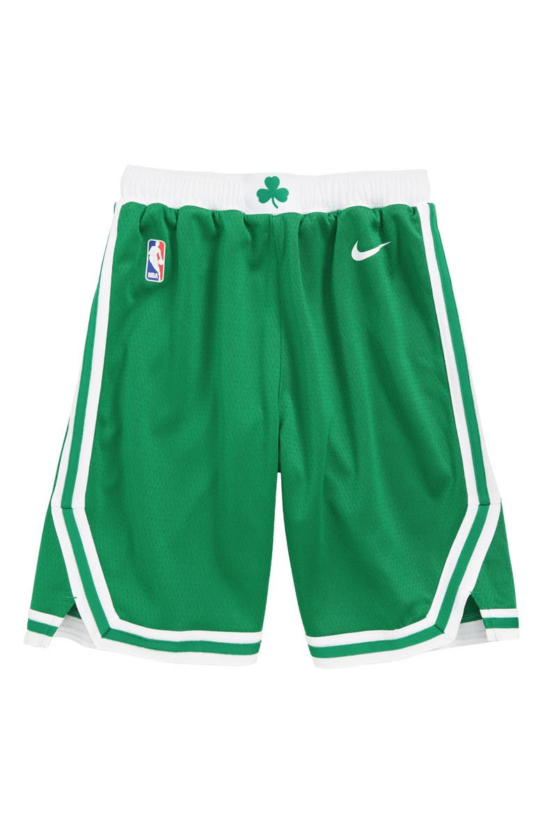 various colors 07839 8ebba Nike Icon Boston Celtics Basketball Shorts (Big Boys ...