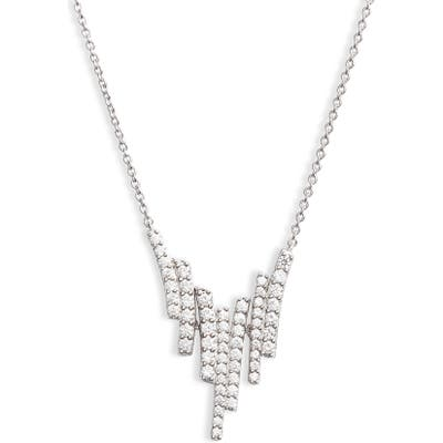 Nadri Ripple Cascade Pendant Necklace