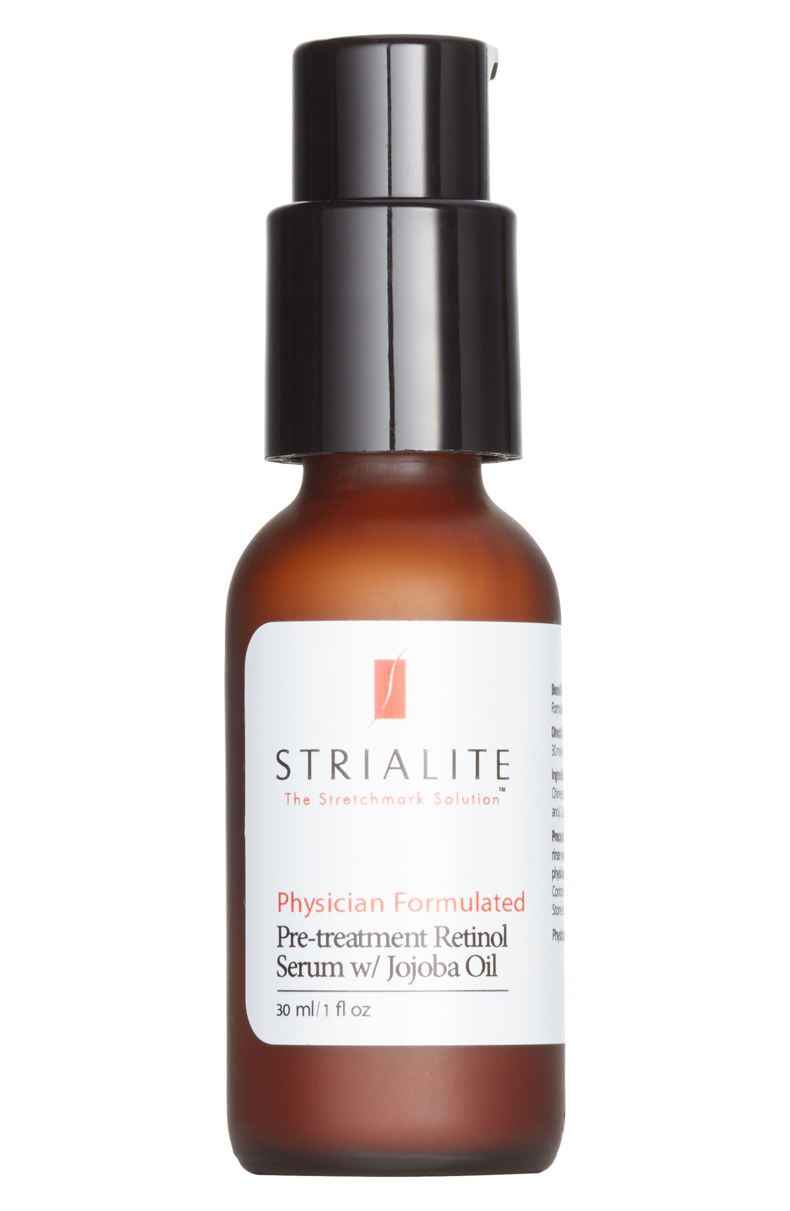 ,                             The Stretchmark Solution<sup>™</sup> Pre-treatment Retinol Serum,                             Main thumbnail 1, color,                             NO COLOR