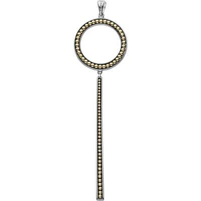 Lagos Enso Circle Bar Necklace Enhancer