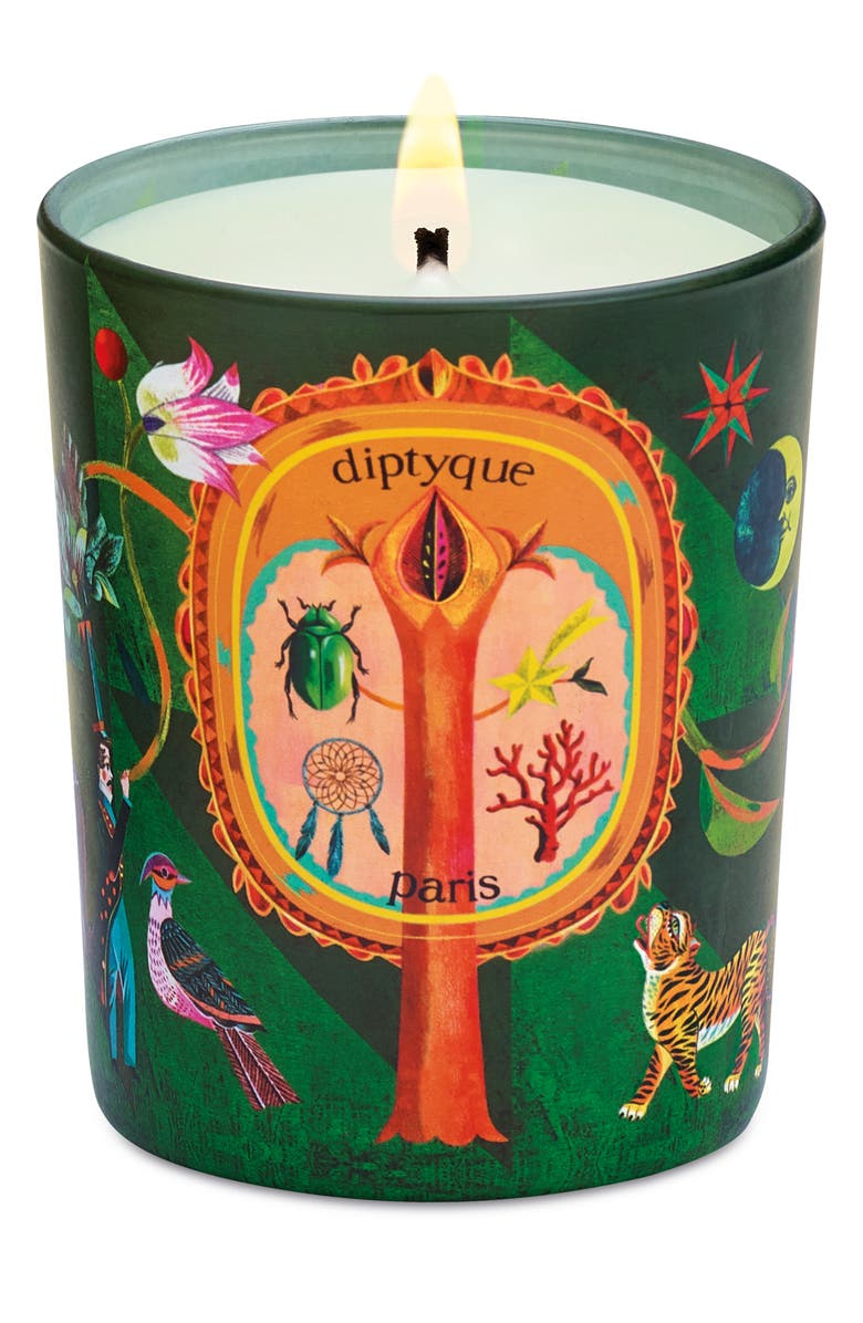 DIPTYQUE Protective Pine Candle, Main, color, NO COLOR
