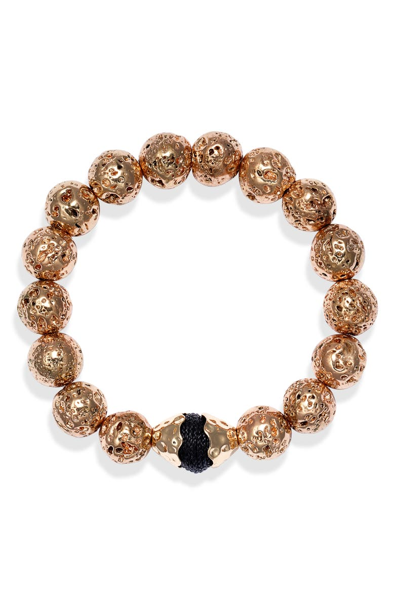 AKOLA Stretch Bracelet, Main, color, BLACK