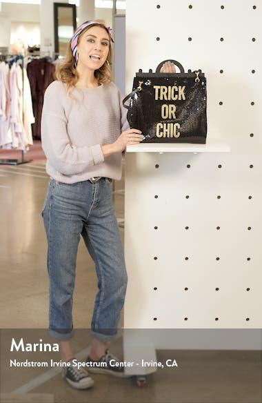 Trick or Chic Sequin Shoulder Bag, sales video thumbnail