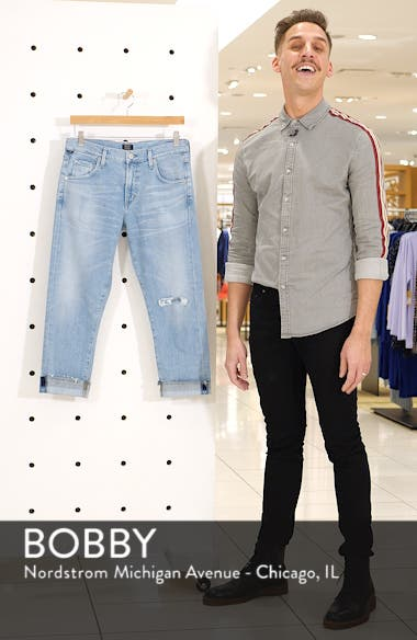 Emerson Crop Slim Boyfriend Jeans, sales video thumbnail