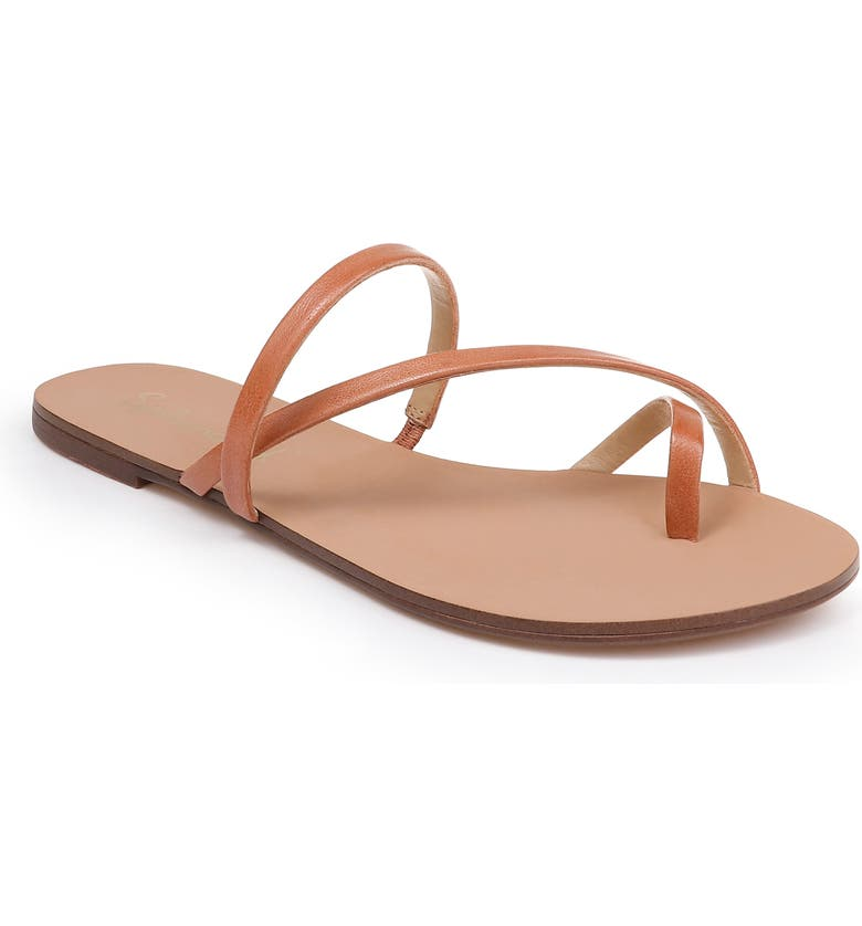 SPLENDID Trenton Strappy Slide Sandal, Main, color, COGNAC LEATHER
