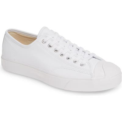 Converse Jack Purcell Leather Sneaker, White