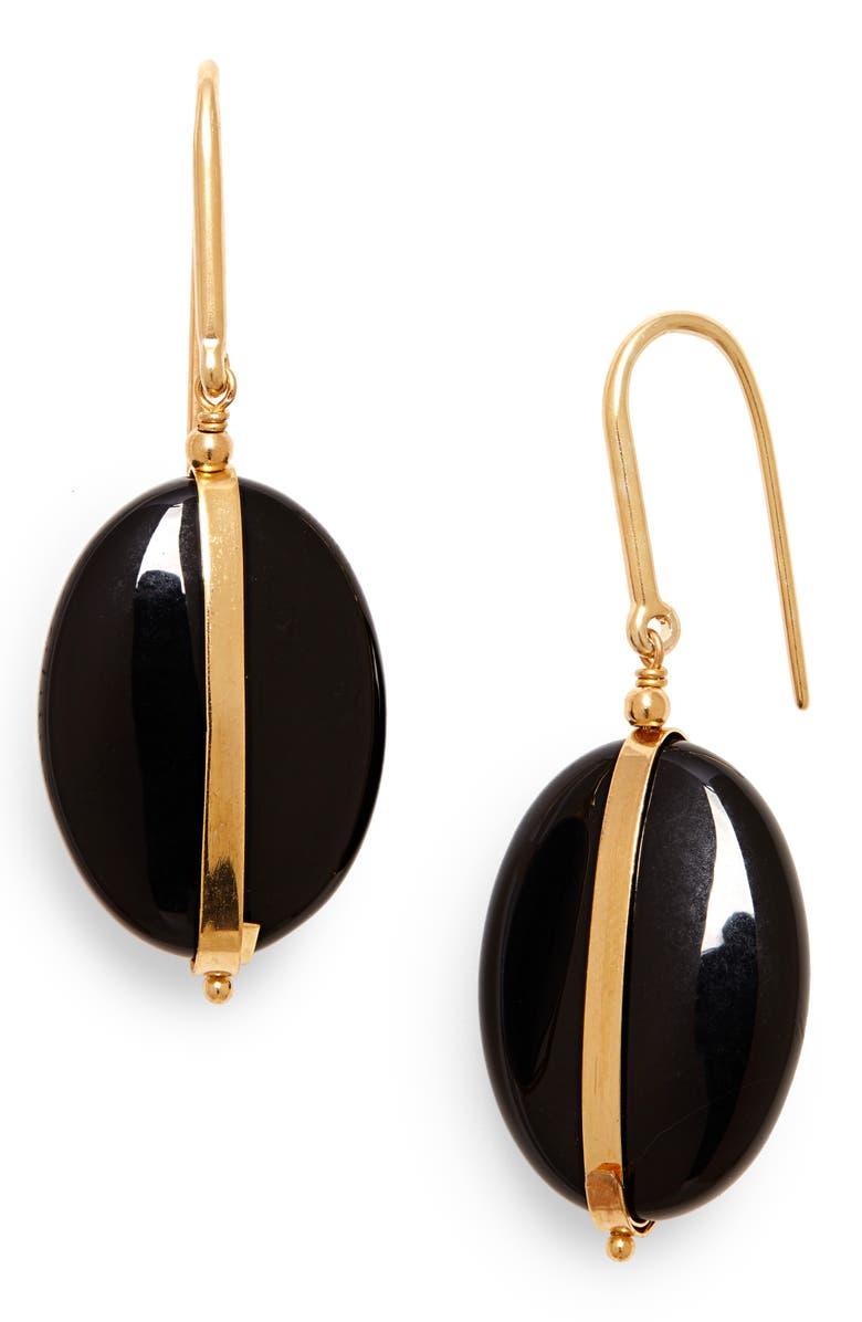 ISABEL MARANT Stone Drop Earrings, Main, color, 710