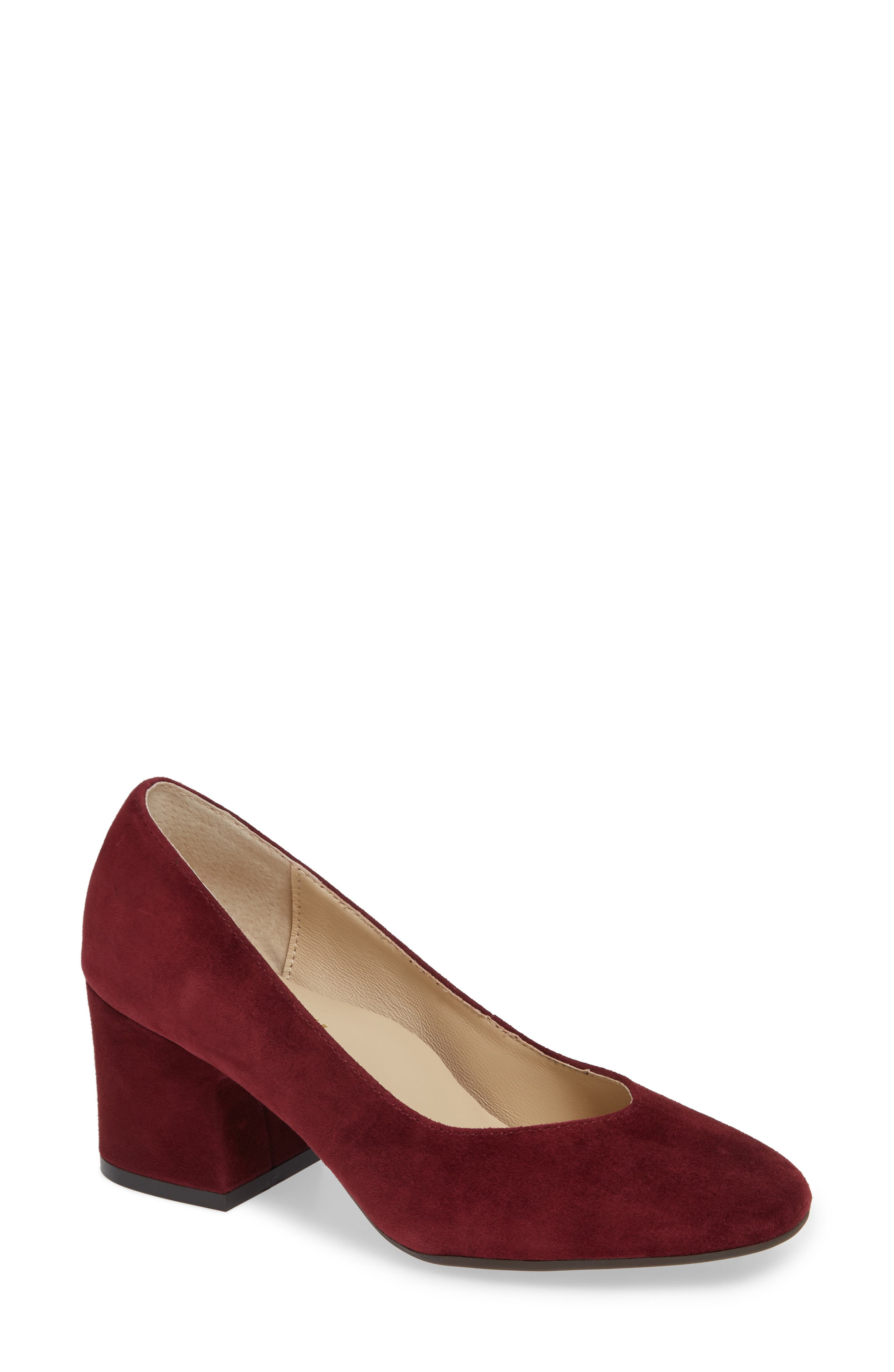 Bettye Muller Concepts Genny Pump, Red