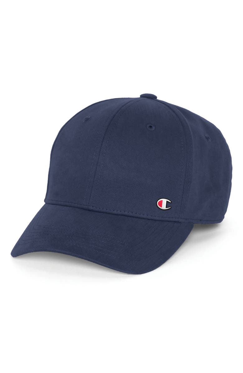 CHAMPION Classic Twill C-Patch Ball Cap, Main, color, IMPERIAL INDIGO