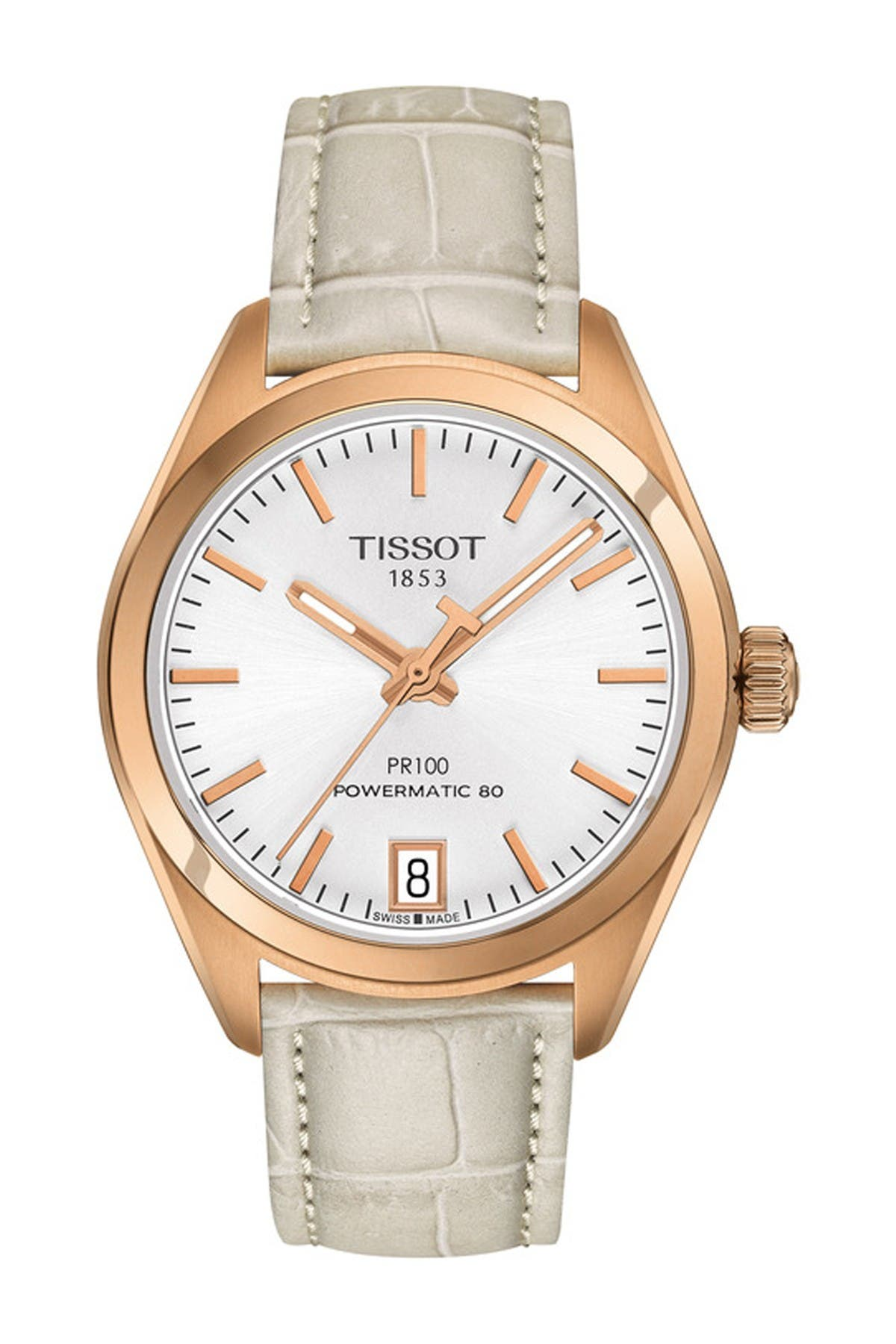 Image of Tissot Women's PR 100 Powermatic 80 Watch, 33mm