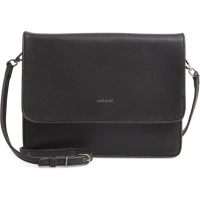 Matt & Nat Lysa Faux Leather Crossbody Bag - Black