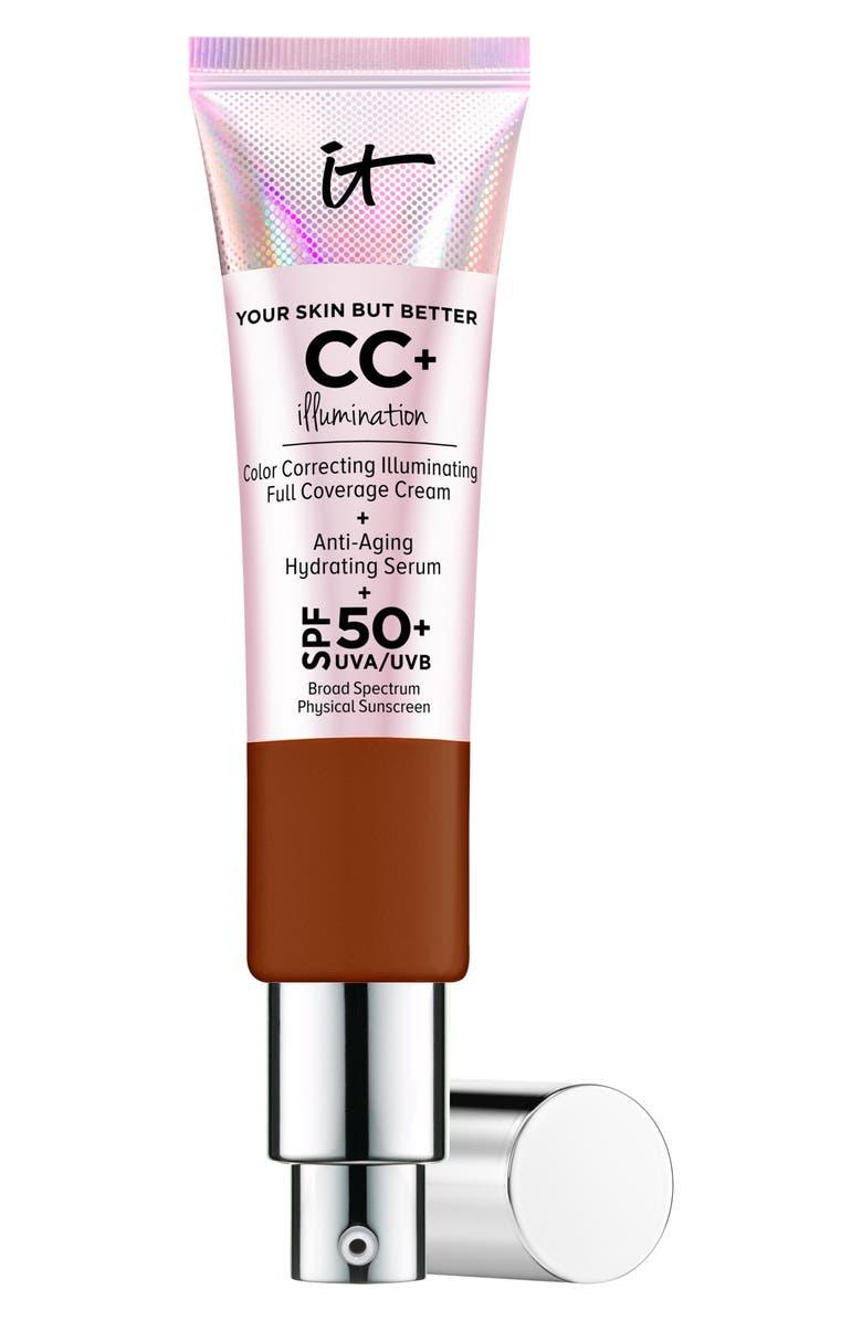 IT COSMETICS CC+ Cream Illumination SPF 50+, Main, color, DEEP