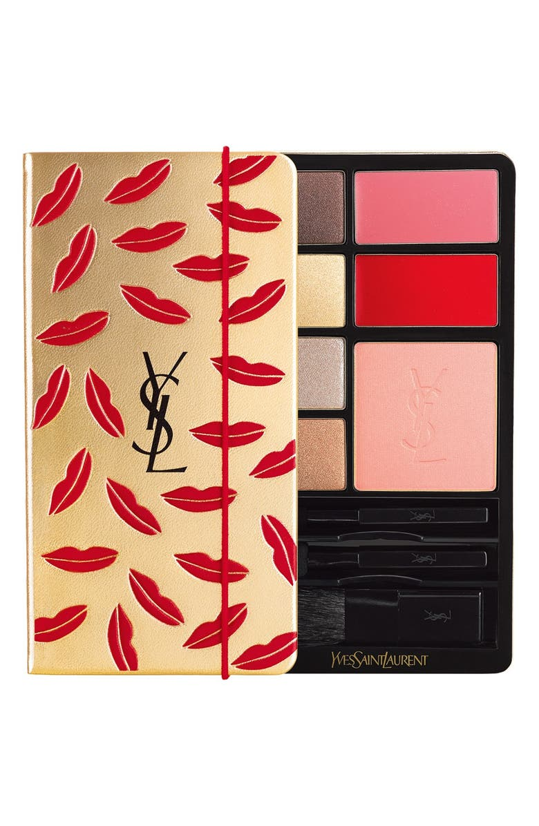YVES SAINT LAURENT 'Kiss & Love' Palette, Main, color, 000